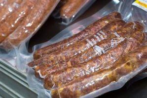 Como curar Venison Sausage