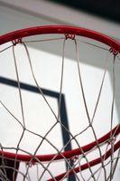 A altura de Basketball Hoops