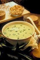 Como se preparar sopa de espinafre