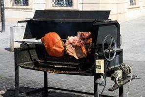Como cozinhar Turquia em uma Rotisserie Burner