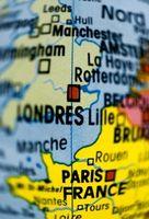 Forma mais barata de viajar de Londres para Paris
