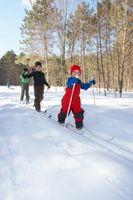 Como escolher Cross Country de Equipamento de Esqui