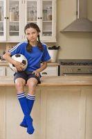 Prós e contras de um Esportista Criança