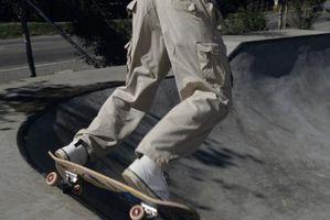 Como encerar um skate Curb áspera