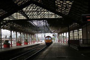 Como usar trens no Reino Unido