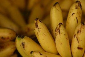 Como manter Bananas maduras
