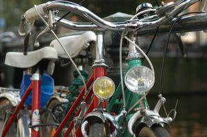 Califórnia leis sobre luzes de bicicleta