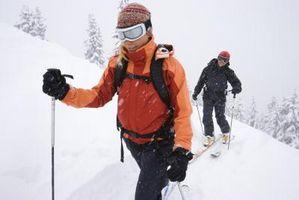 Como escolher a altura apropriada de Esqui pólos