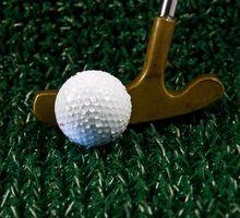 Como criar sua própria mini campo de golfe
