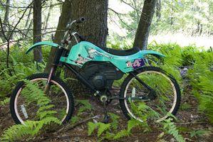 Trilhas para bicicletas da sujeira em Maryland