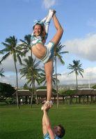 Como Esticar por um escorpião em Cheerleading