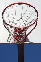 Especificações para redes de basquete