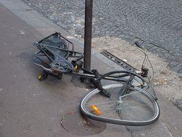 Como definir um bloqueio de bicicleta
