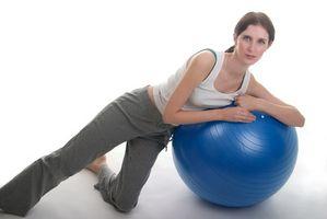 Como obter um plug para fora de uma bola de Pilates