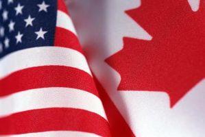 Que documentos são necessários para viagens a partir do estado de Washington para o Canadá?