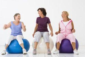 O que é o regime perfeito Weekly Exercício Com aulas de ginástica?