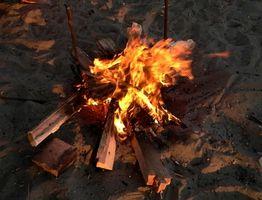 Como iniciar um incêndio com Wet Madeira