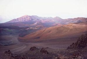 O que são os principais vulcões das ilhas havaianas?