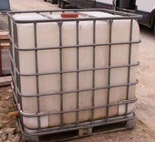 Como reparar um tanque de água de plástico