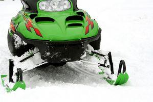 Trilhas de snowmobile em Ontário