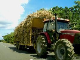 Como é Sugar Cane feito em açúcar granulado?