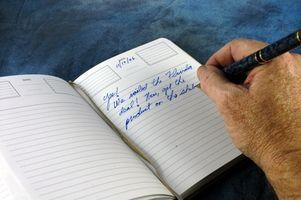 Como manter um diário de treinamento