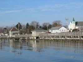 Restaurantes de frutos do mar na Baía de Chesapeake, na Virgínia