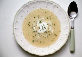 Que tipo de Dinners posso ganhar Com Creme de sopa de batata?