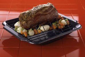 Como a cozinhar uma carne assada em um Roaster Pan
