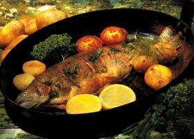 Como cozinhar peixe forte Tasting