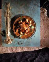 Será que Brown da galinha significa que é cozinhada todo o caminho através?