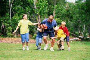 Como melhorar a participação dos pais em esportes organizados