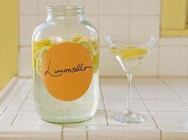 Como fazer Liquor: caseiro Receita Limoncello