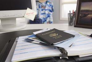 Como localizar seu número de passaporte