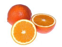 Como manter laranjas frescas