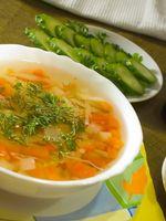Como faço para fazer sopa de frente?