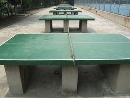 Como projetar uma mesa de pingue-pongue