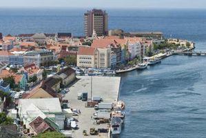 A viagem entre Curaçao e Aruba