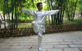 Técnicas de equilíbrio para Shaolin Kung Fu