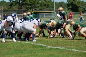 Regras e Regulamentos para um jogo de futebol