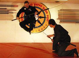 Como saltar como um ninja