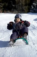 Como fazer um trenó de neve Go Fast uso de produtos químicos