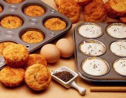 Como fazer Úmidas Muffins com creme de leite