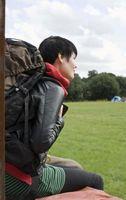 Como carregar um Acampamento Trilhas Backpack
