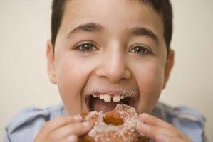 Os sintomas Sugar Rush
