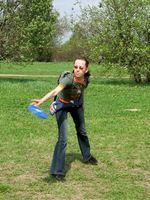 Frisbee Golf Warm Up Exercícios