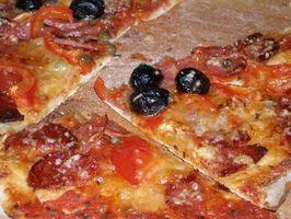 Pizza Pedra instruções de cuidado