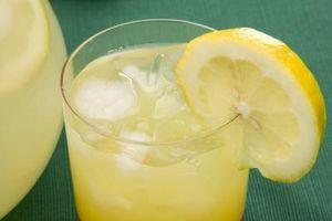 Como fazer limonada de limão sumo reconstituído