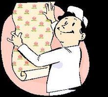 Como reparar Estuque Paredes Wallpaper para Preparação