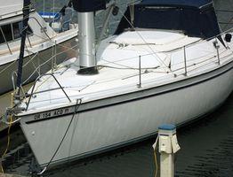 Reparação gelcoat barco